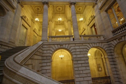Le grand escalier du grand théâtre de Bordeaux
