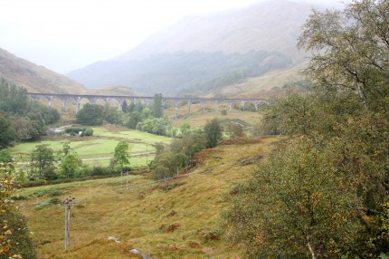 Viaduc de Glenfinnan  (train d'Harry Potter)