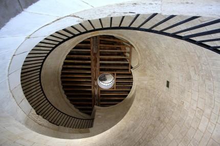 Plafond de la salle des lampes