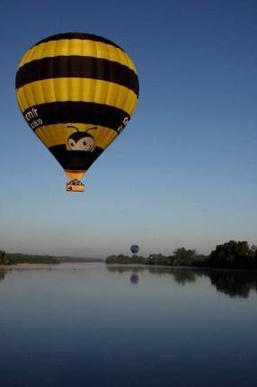 La Loire en Montgolfière