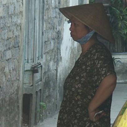 Fille et mère du Vietnam