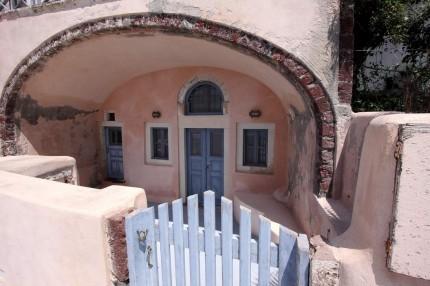 Maison troglodyte (Santorin)