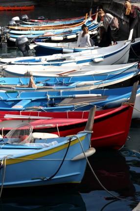 Barques de Vernazza