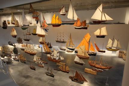 Flotte marine au MMM Musée mer Marine