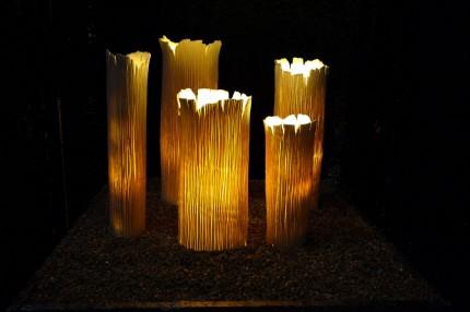Sculptures en lumière