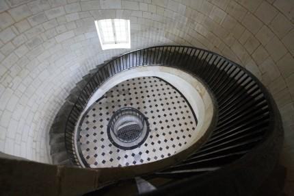 l'escalier du vestibule