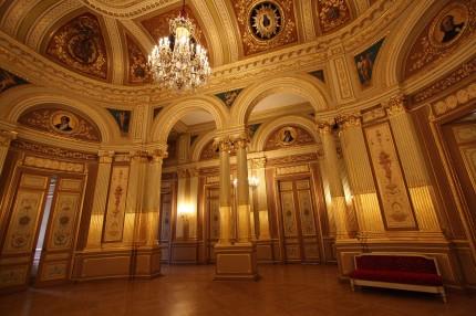 La salle de bal du grand théâtre de Bordeaux