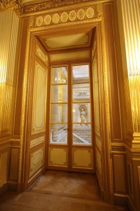 Fenêtre de la salle de bal du grand théatre