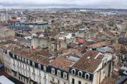 Bordeaux jour de pluie