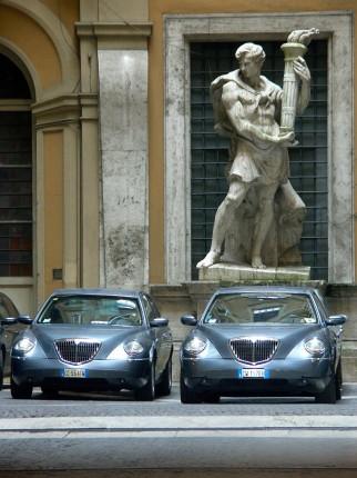 Mélange des styles à Rome