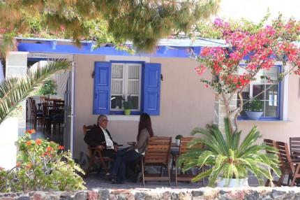 Palabres Grècs à Akrotiri (Santorin)