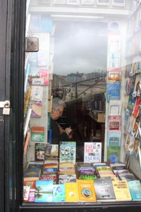La libraire des vieux quartiers Lisbonne