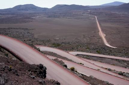 La plaine des sables ( ile de la Réunion)